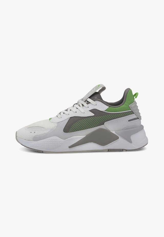 RS-X HARD DRIVE - Sneakers laag - puma white-steel gray