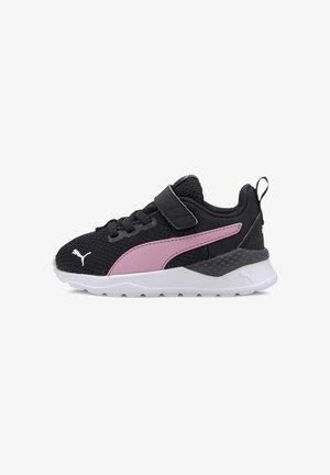 ANZARUN LITE  - Sneakers laag - black-pale pink-puma silver