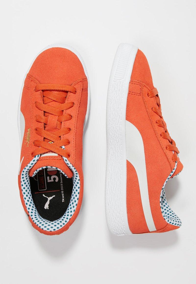 Puma - SESAME 50 - Sneakers laag - cherry tomato/white