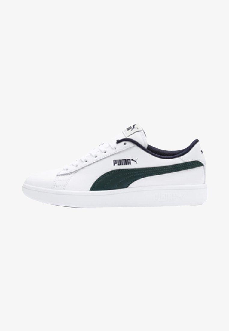 Puma - SMASH  - Sneaker low -  white/ponderosa pine