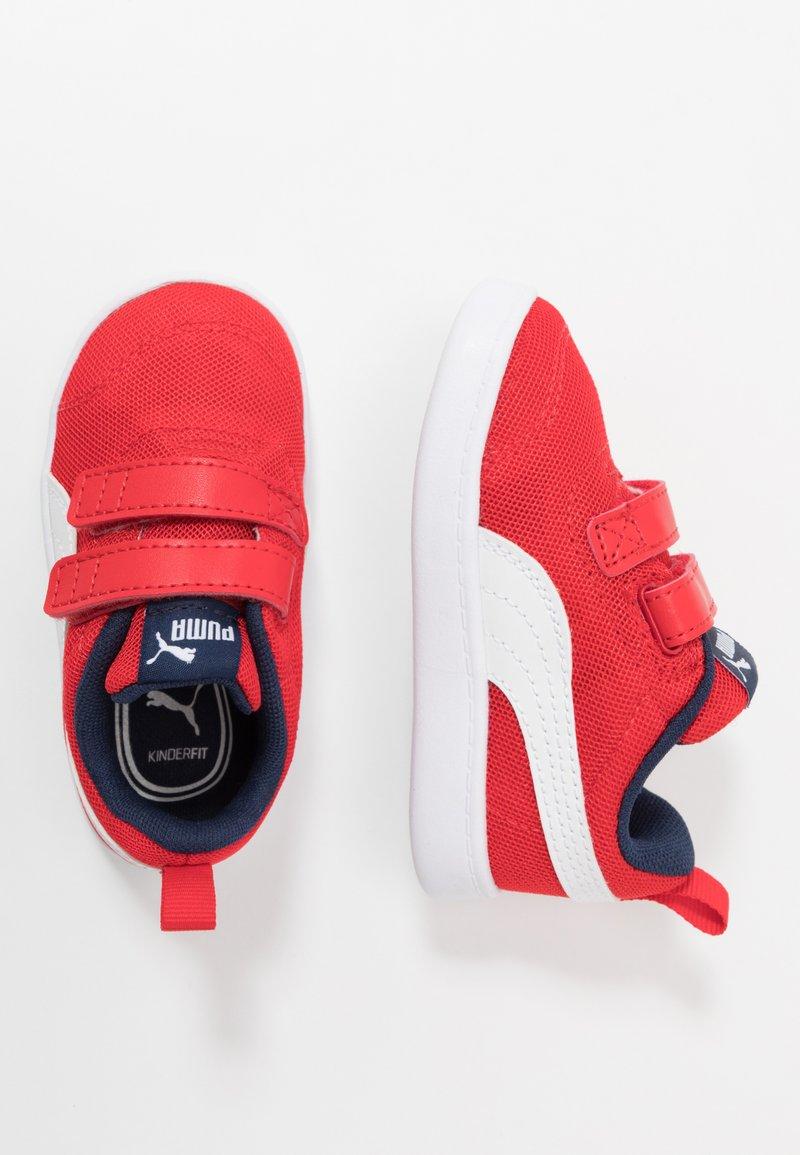 Puma - COURTFLEX - Baskets basses - high risk red/white