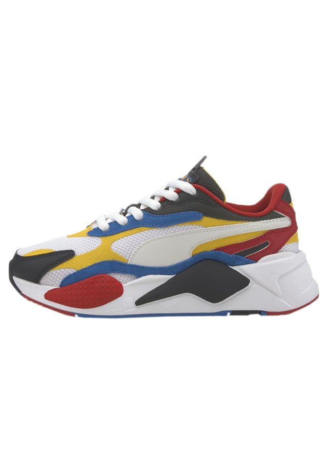PUZZLE YOUTH - Sneakers - yellow