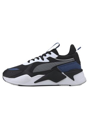 PUMA RS-X COLLEGIATE YOUTH SHOES UNISEX - Sneakers laag - puma black-bright cobalt