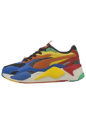 PUMA PUMA X RUBIK'S RS-X³ YOUTH TRAINERS UNISEX - Baskets basses - palace blue-high risk red