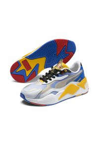Puma - PUMA PUMA X SONIC RS-X³ COLOR YOUTH TRAINERS UNISEX - Baskets basses - puma white-golden rod - 2