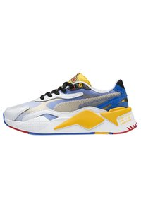 Puma - PUMA PUMA X SONIC RS-X³ COLOR YOUTH TRAINERS UNISEX - Baskets basses - puma white-golden rod - 0