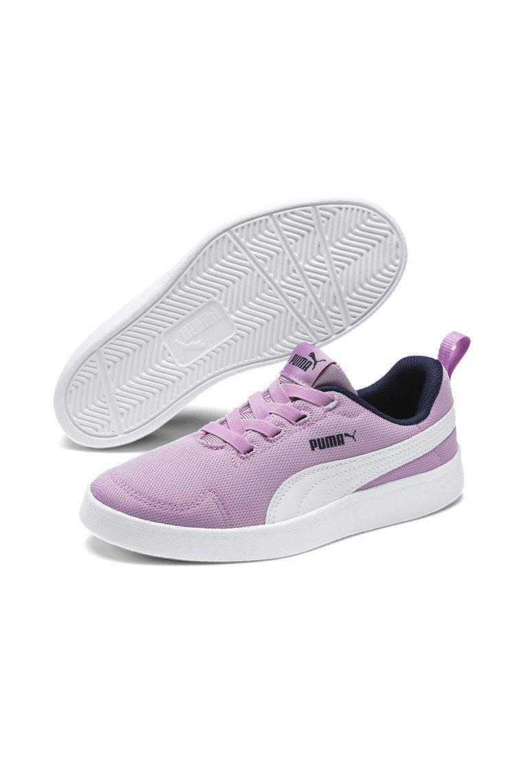 Puma - COURTFLEX - Sneakers basse - Orchid-Puma White-Peacoat