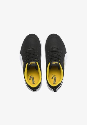 COURTFLEX - Sneakers laag - black-white-yellow
