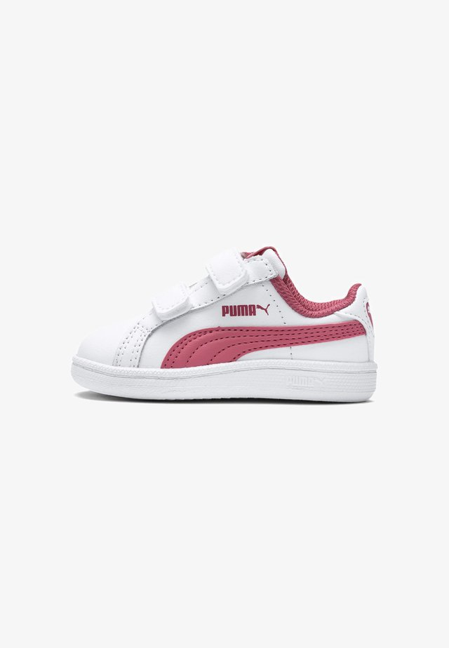 Lära-gå-skor - puma white-rapture rose