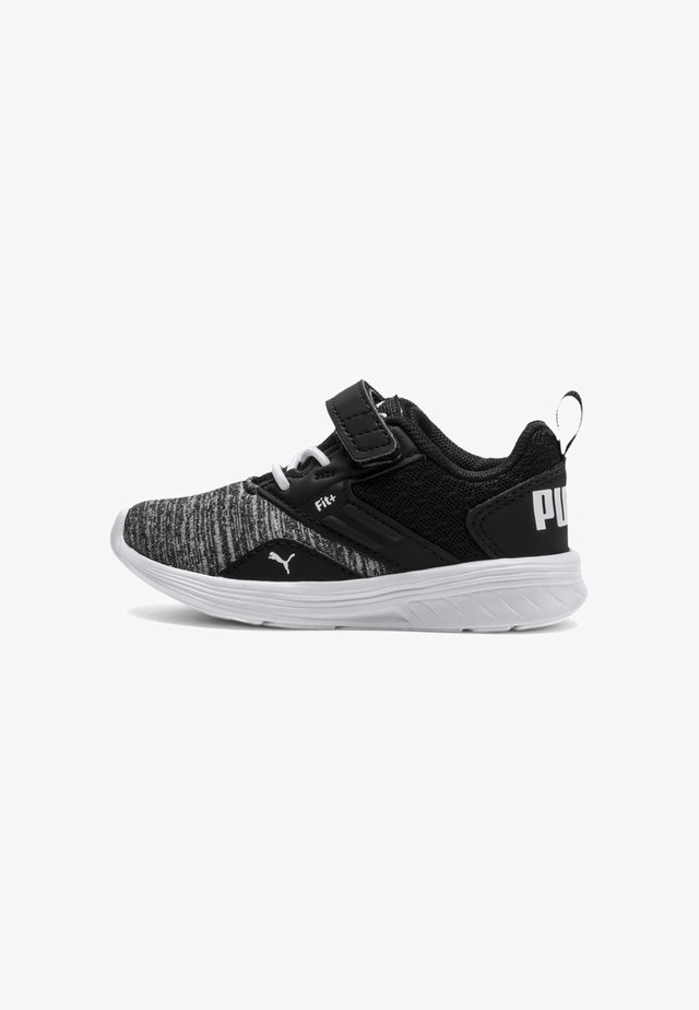 Lær-at-gå-sko -  white/ black