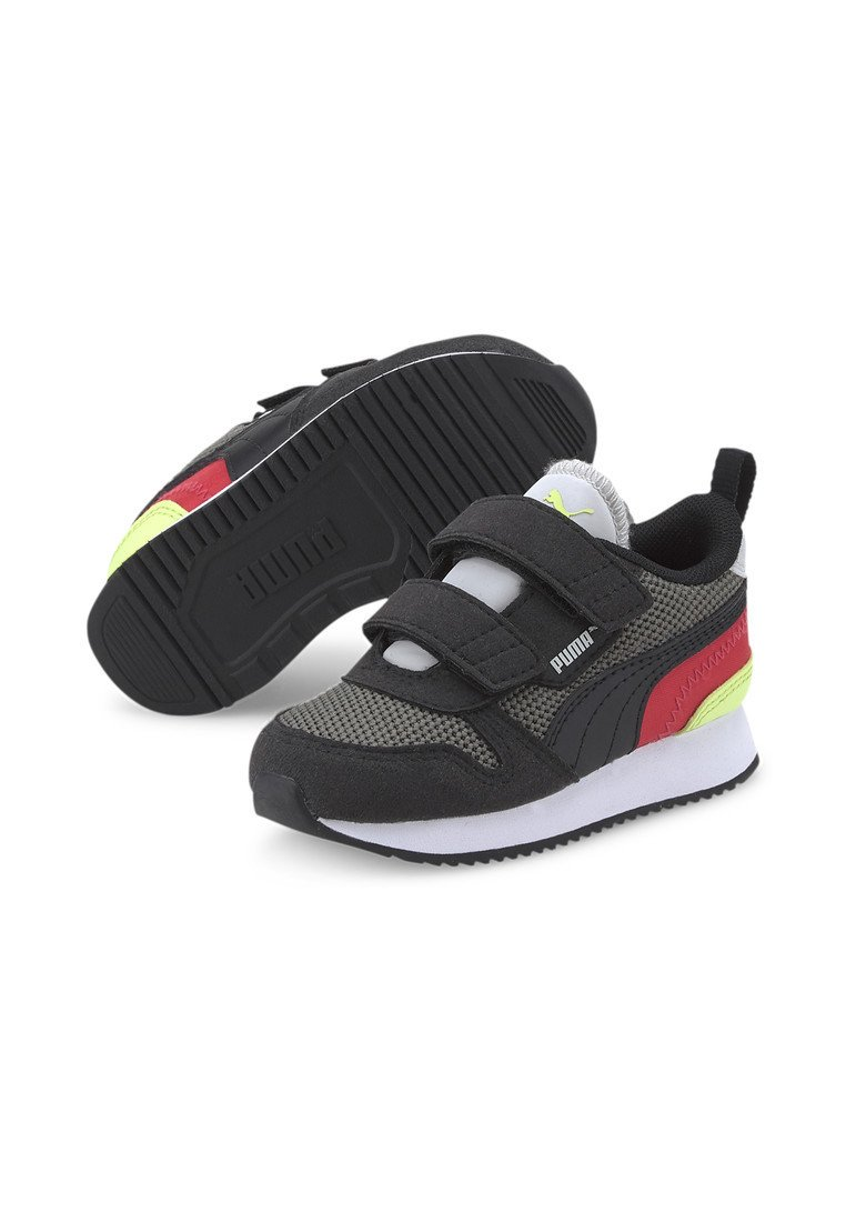 Baby shoes - ultra gray black