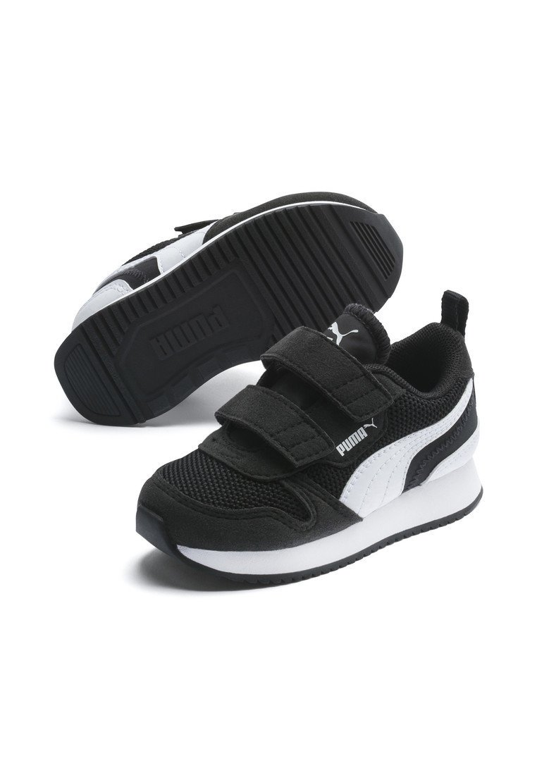 Baby shoes - black-white