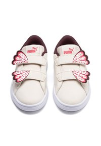 Puma - SMASH V2 BUTTERFLY KID GIRLS' TRAINERS UNISEX - Sneakers - pink - 5
