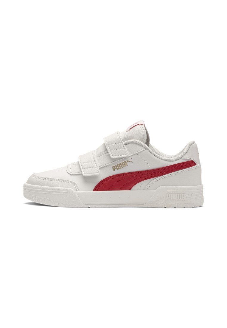 Puma - Touch-strap shoes - w.white-h.risk red-p.gold
