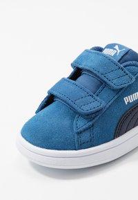 Puma - SMASH - Baskets basses - bright cobalt/peacoat/white - 2