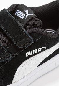 Puma - SMASH - Baskets basses - black/white - 2