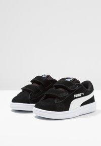 Puma - SMASH - Baskets basses - black/white - 3