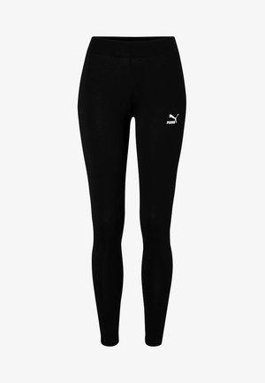 CLASSICS LOGO - Legging - cotton black