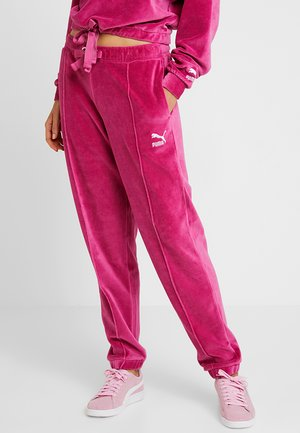 PANTS - Tracksuit bottoms - fuchsia purple