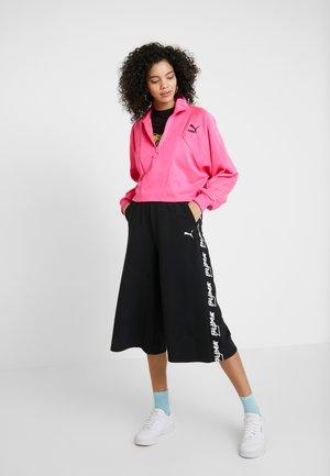 EVIDE CULOTTES - Spodnie materiałowe - black