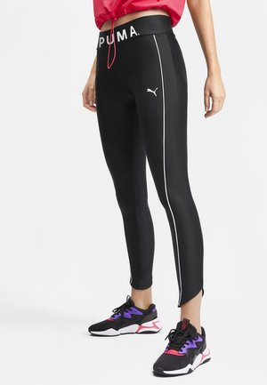 CHASE GRAPHIC - Leggings - Trousers - black