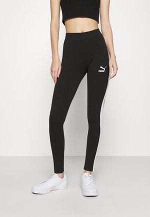 CLASSICS LOGO  - Leggings - Trousers - black