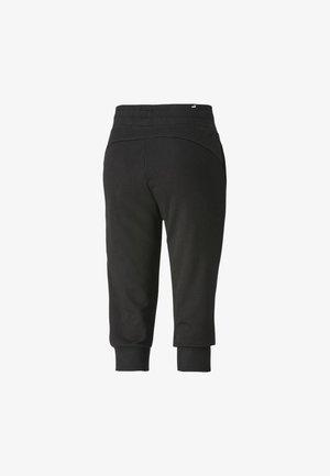 Tracksuit bottoms - cotton black