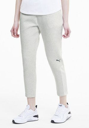 Tracksuit bottoms - puma white heather