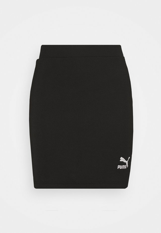 CLASSICS SKIRT - Minijupe - black