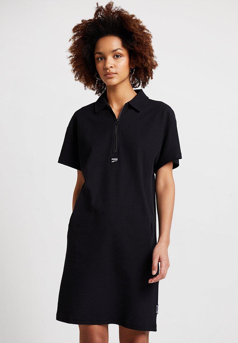 Puma - DOWNTOWN DRESS - Blusenkleid - black