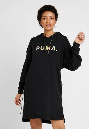 CHASE HOODED DRESS - Sukienka letnia - puma black