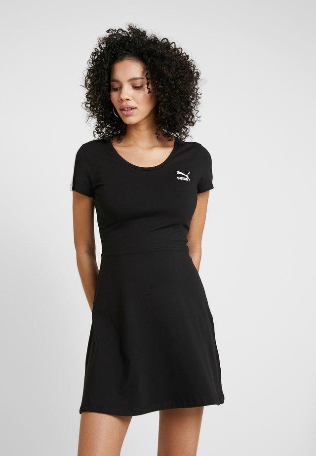 CLASSICS SHORTSLEEVE DRESS - Jerseyjurk - black