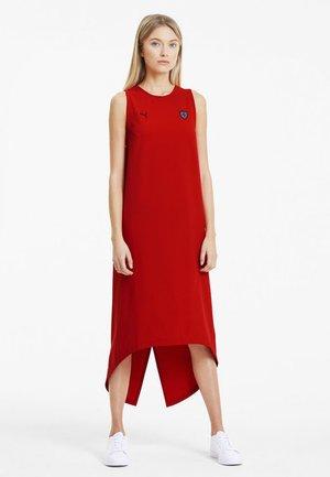 KVINNA - Vestito estivo - rosso corsa