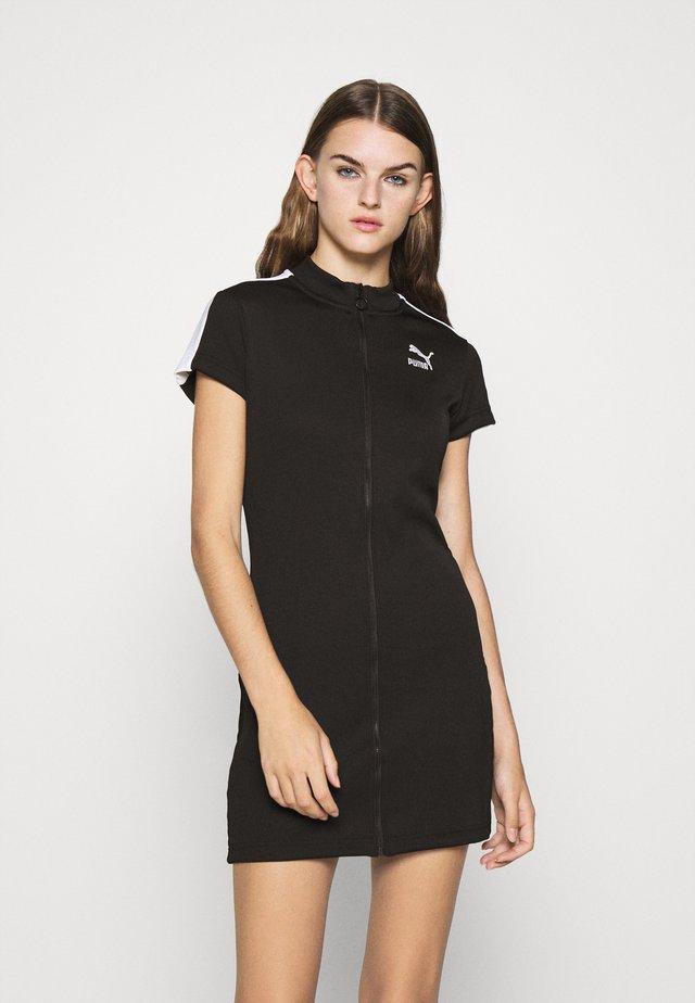 CLASSICS TIGHT DRESS - Denní šaty - black