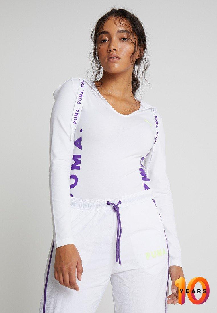 Puma - CHASE BODYSUIT - Camiseta de manga larga - white