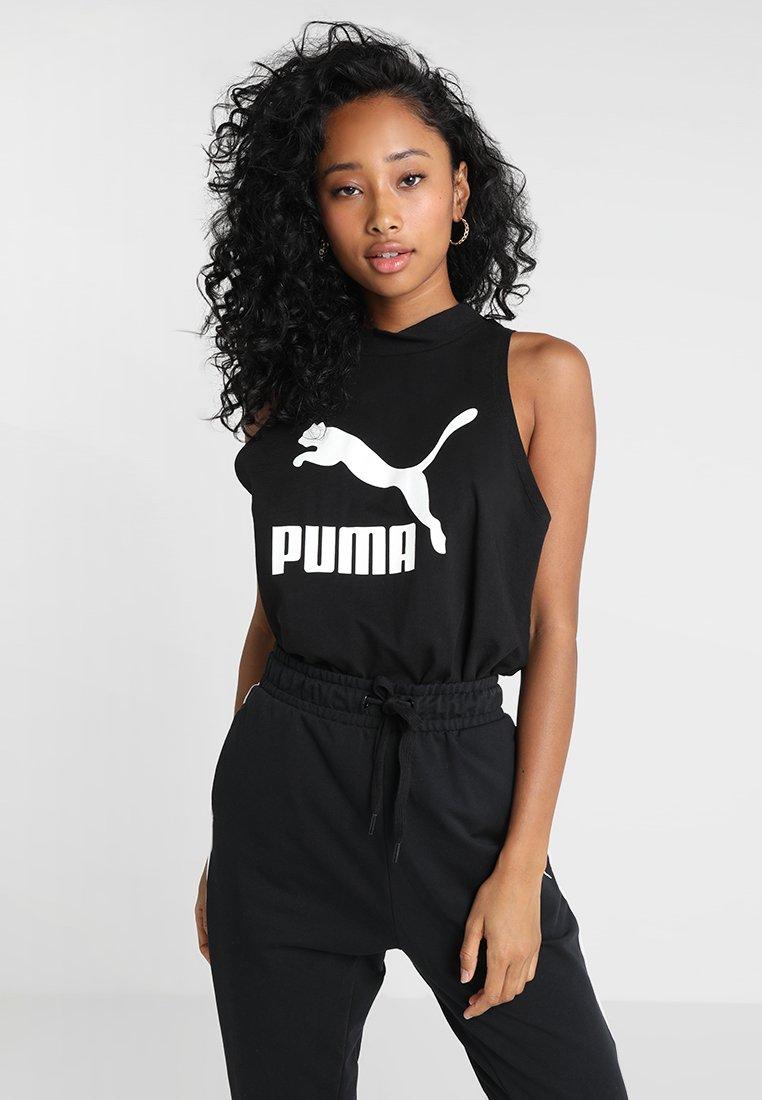 Puma - CLASSICS LOGO TANK - Top - black