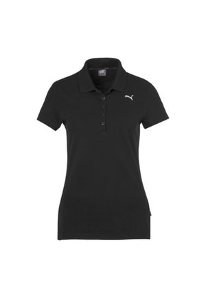 PUMA ESSENTIALS DAMEN POLO FRAUEN - Polo shirt - cotton black-cat