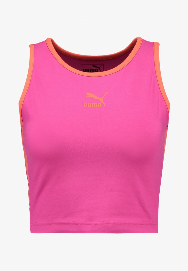 Puma CLASSIC CROPPED TANK Top pink