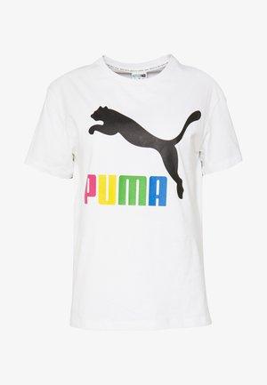 CLASSICS LOGO TEE - Camiseta estampada - white