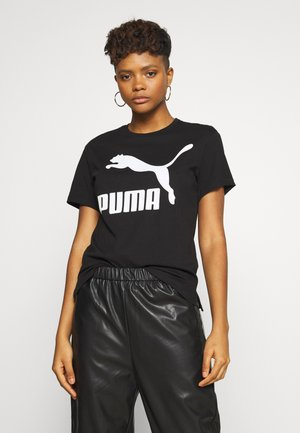 Print T-shirt - puma black rider
