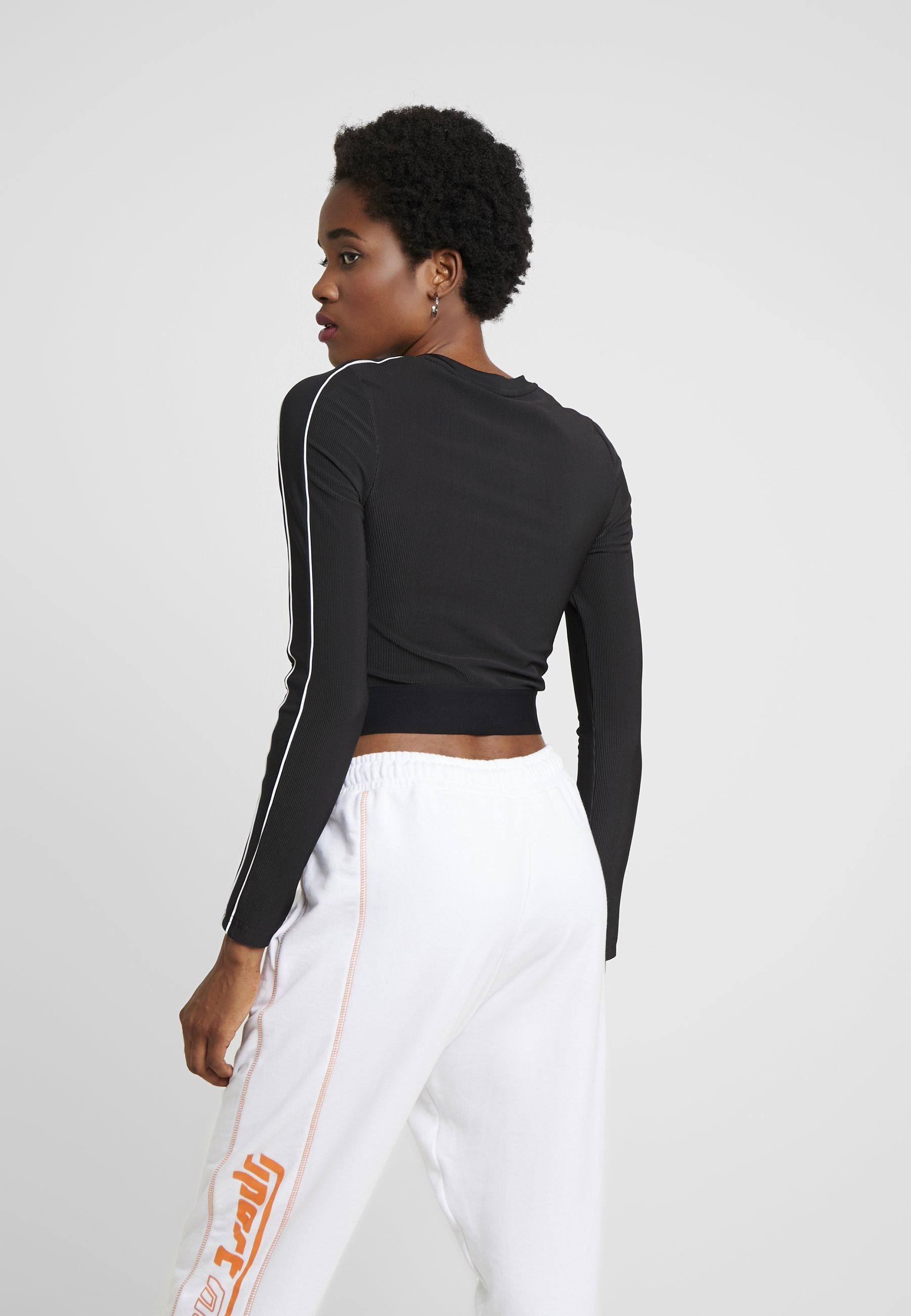 black Puma shirt à manches CLASSICST longues IyYf7g6vb