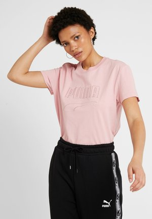DOWNTOWN TEE - T-shirt con stampa - bridal rose