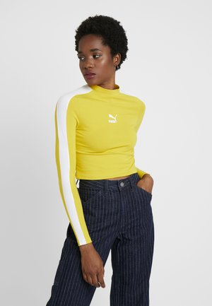CLASSICS CROPPED - Long sleeved top - sulphur