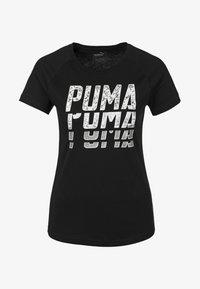 Puma - Print T-shirt - black - 0