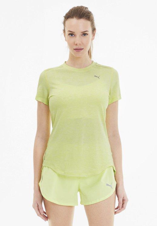 IGNITE  - T-shirts print - sunny lime heather