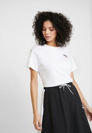 CLASSICS TEE - Print T-shirt - white