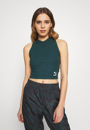EMPOWER WRAP HALTERNECK - Top - green gables