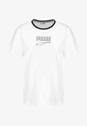 T-SHIRT DOWNTOWN W - T-shirt imprimé - white