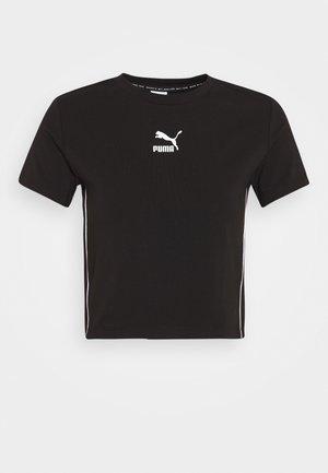 CLASSICS TIGHT CROPPED - T-shirts print - black