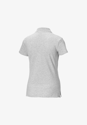 Polo shirt - light gray heather